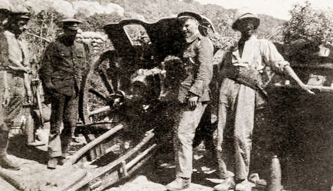 4.5 Howitzer Gallipoli