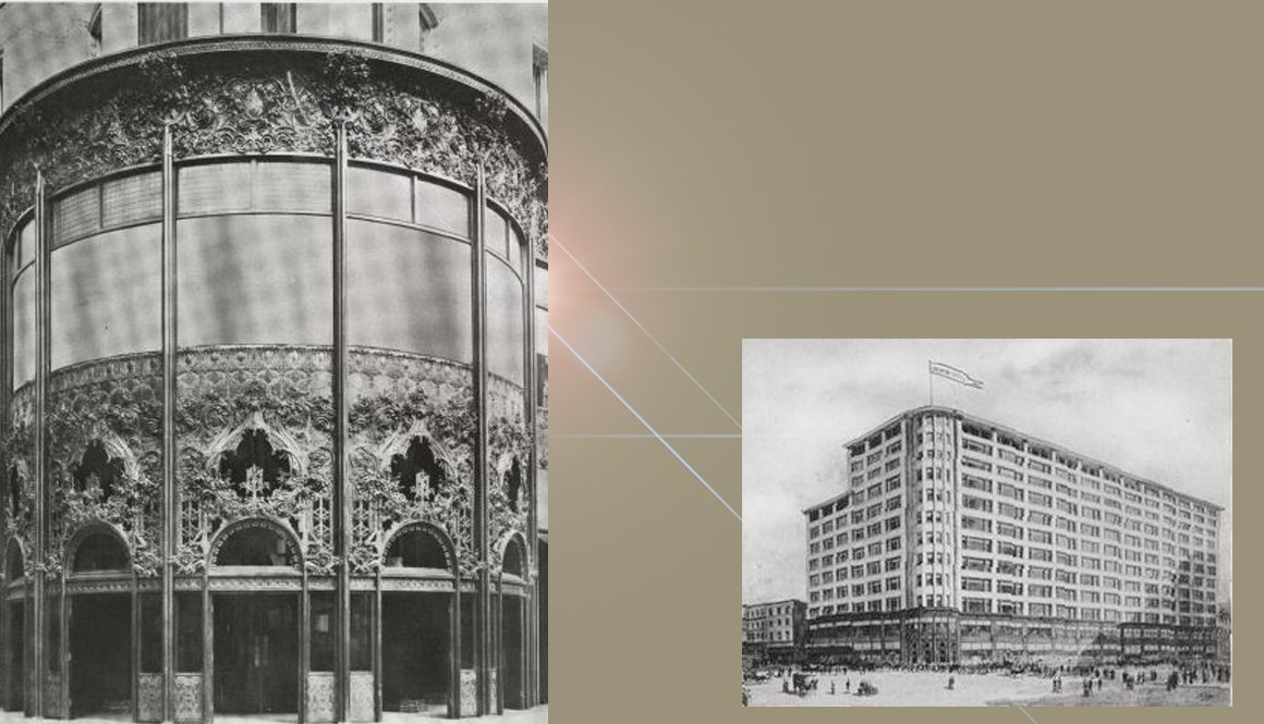 photos of Carson Pirie Scott building