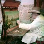 Churchill painting