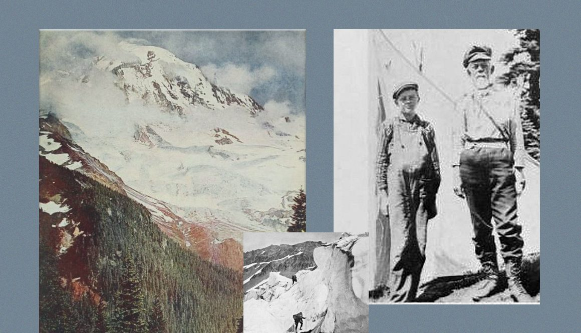 Hazard Stevens, 1905 and Mt. Rainier