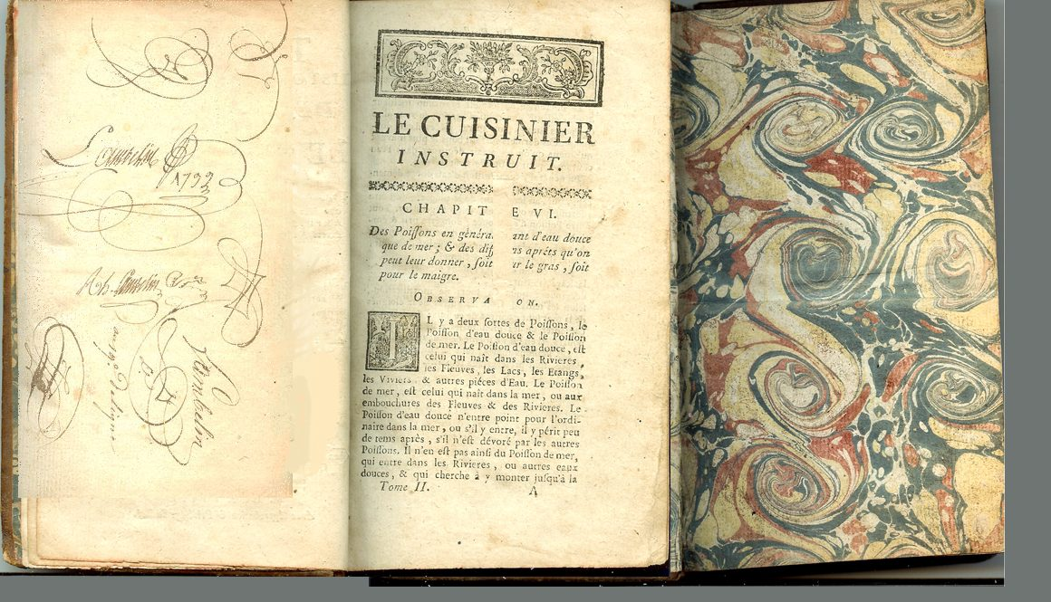 Book printed on linen-rag paper