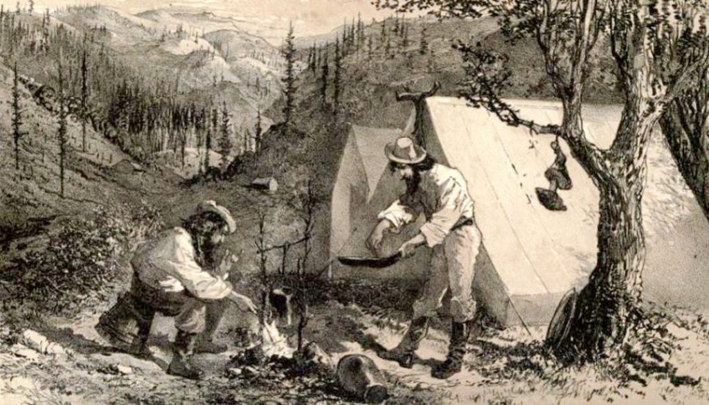 A Californa Mining Camp