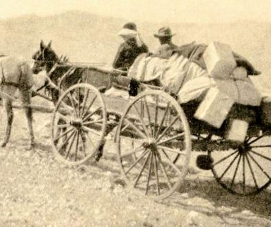 The old milk wagon