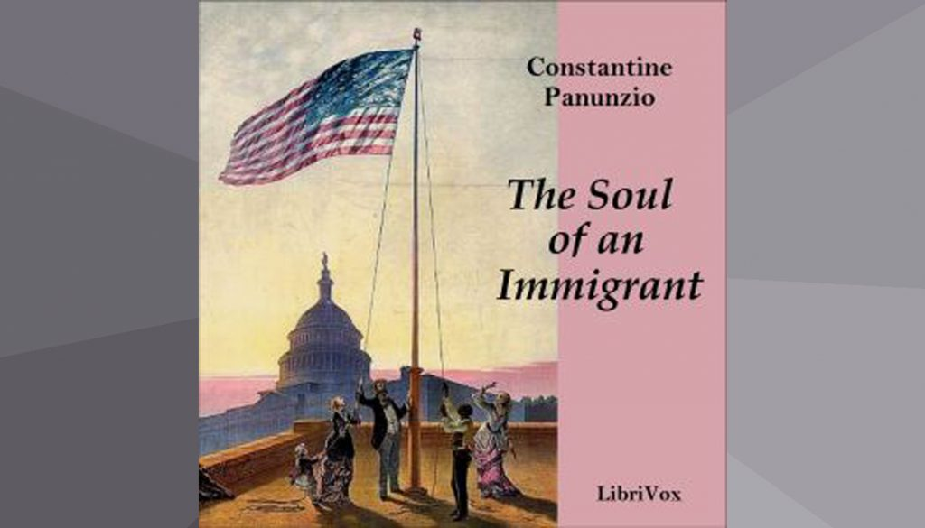 CD Cover of The Soul of an Immigrant