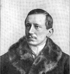 Guglielmo Marconi (1874-1937), in 1902 at Newfoundland