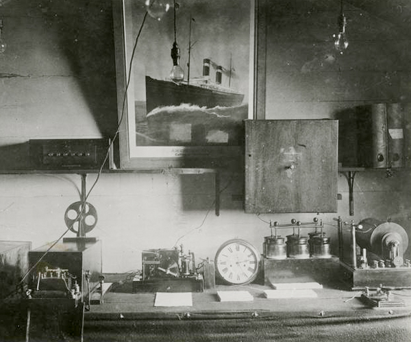 Wireless Receiver on a Steamship