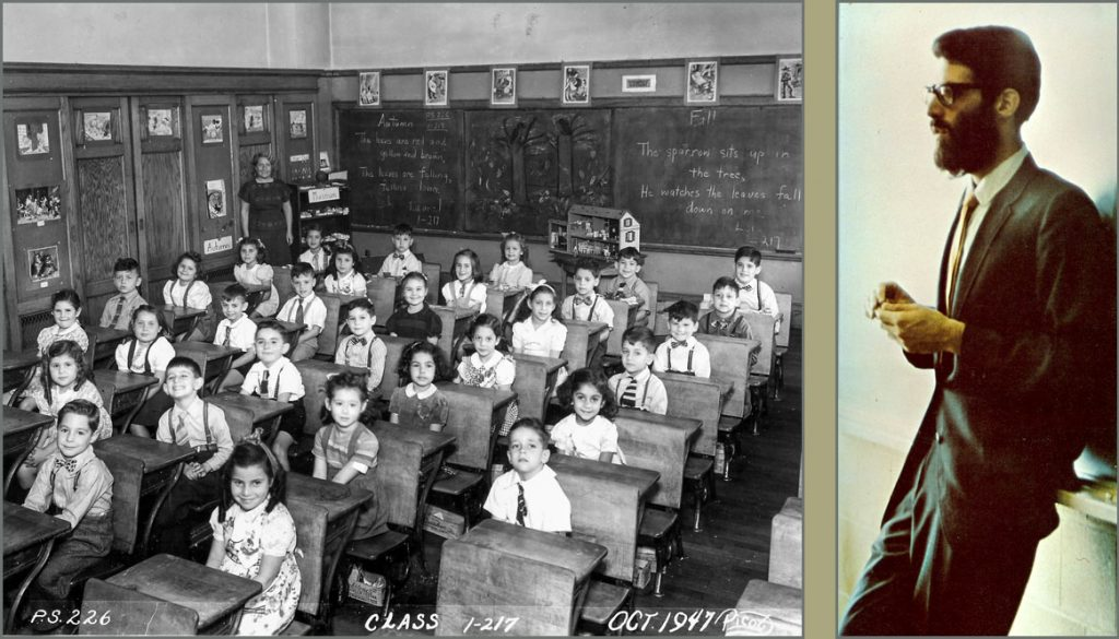 In the classroom, 1947, 1967