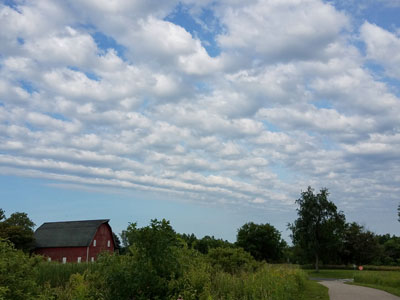 Midwestern sky, photo