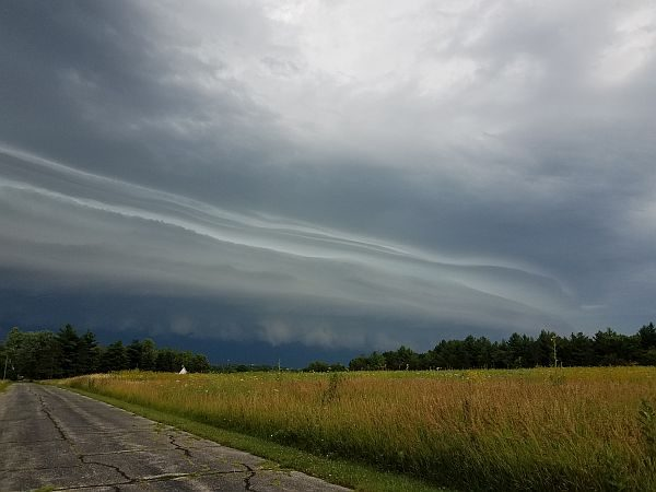 Photo of storm clouds