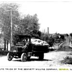 Photo of delivery truck (1913)