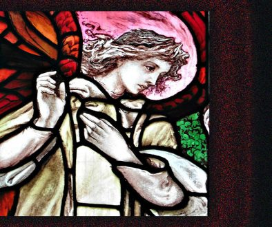 stained glass annunciation