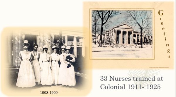 photo of nurses 1909