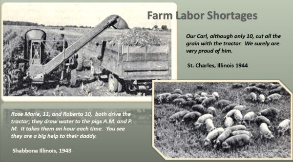 photos of farm life in the 1940's